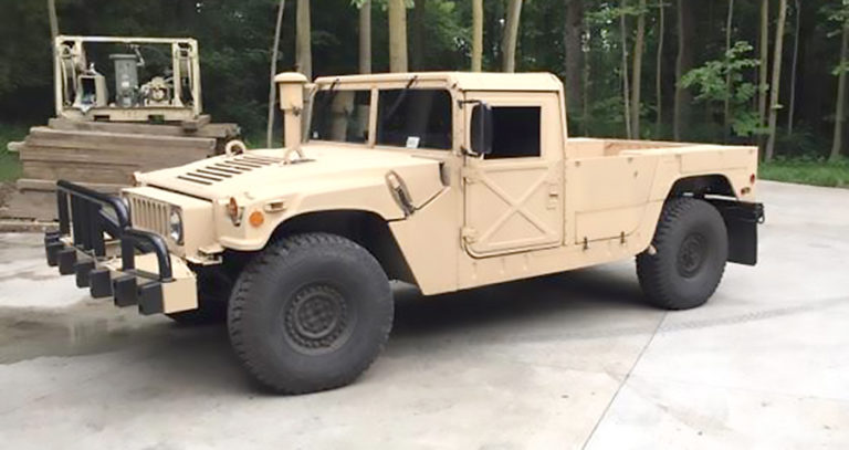 M1113 Style Roof System